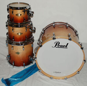 Pearl Masters Premium Maple MMP924XFP Sunrise Fade Set