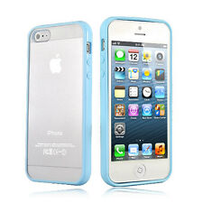 BLUE Top Grade Hard MATTE PC & Soft GEL Cases Cover  For Apple iPhone 5 5S