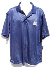 Pro Player Men's Navy Blue Polo Shirt New Hampshire Wildcats Size Large NWT