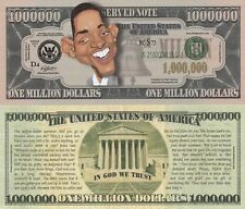 Will Smith Caricature Million Dollar Tract Funny Money Novelty Note FREE SLEEVE