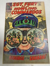 Marvel SGT. FURY AND HIS HOWLING COMMANDOS #43 (1967) Gary Friedrich, Dick Ayers