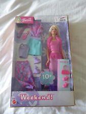 Fin de semana! Muñeca Barbie 2003 Mattel B9674-Nuevo