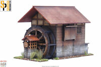 Japan WATERMILL SAMURAI/ JAPANESE 28mm Laser cut MDF scale Building B017