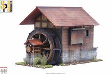 Le Japon Moulin SAMOURAI/JAPONAIS 28 mm Laser Cut MDF Scale Building B017