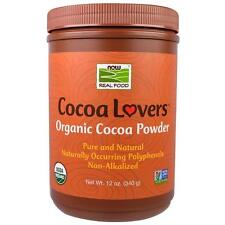 Now Foods Cocoa Lovers, Organic Cocoa Powder, 12 oz (340 g)