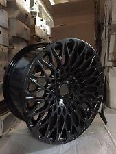 """16"""" BLACK  MESH ALLOY 7.75J FIT FORD FIESTA VW GOLF TOYOTA HONDA BMW  MINI"""