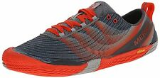 Mens MERRELL Vapor Glove 2 Lightweight Running Shoe Sneakers ORANGE GRAY sz 15