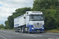 Truck Photos M&N Transport (Wilts) Mercedes Actros & tipper WU64 AWF Charity Lot