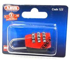 ABUS 155/20 Code rot Vorhängeschloss Kofferschloss 1000-572