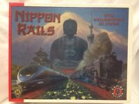 New Sealed Nippon Rails Board Game by Mayfair Games- makers of Catan series 4508