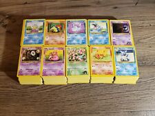 Pokemon 100 WoTC Bulk Lot *neo, gym, base, rocket, collection, fossil*