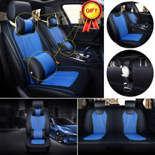 Auto Car 3D Seat Cover 5 Seat Front N Rear Cushions Universal Full Set US Stock