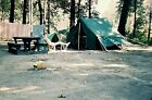 SY06 ORIGINAL KODACHROME 1950s 35MM SLIDE WAMPLERS LAKE MICHIGAN SITE 16 RESTING