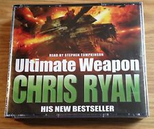 AUDIO BOOK - CHRIS RYAN - Ultimate Weapon -  on 3 CDs