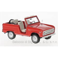 FORD BRONCO ROADSTER 1966 RED 1:43 Neo Scale Models Auto Stradali Die Cast