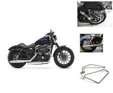 Motorcycle Saddlebags Brackets Set for Harley Davidson Sportster 883 Iron New