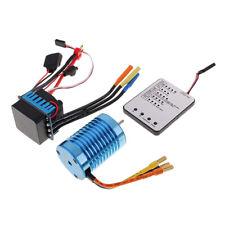 3930KV Brushless Motor + 45A ESC + LED Programmierkarte Combo für 1/10 RC
