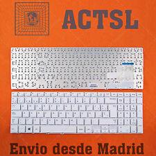 """Teclado Español para SAMSUNG NP370R5E-S05CN 15.6"""" White"""