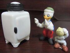 RARE Disney Ducktales Gyro Gearloose Little Helper Ceramic Porcelain Figure Set