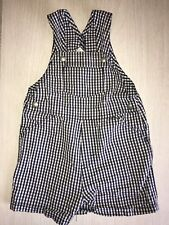 Baby Gap Boys Navy Blue Shorts Overalls 6-12 Months One Piece Outfit EUC Summer