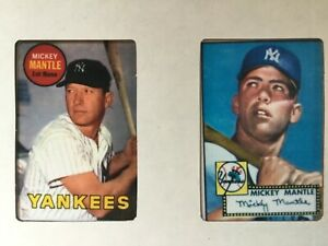 The Mickey Mantle Collector's Edition from the Hamilton Collection 1952 & 1969 c