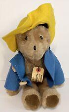 Vintage 1975 Paddington Bear Plush by Eden Toys NY NY USA Collectors Childs Gift