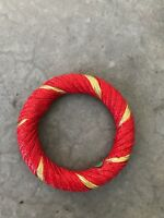 Vintage Red Gold Bangle Bracelet Jewelry