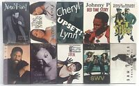 Lot of 10 Audio Cassette Singles Various Artists Sealed Collection Of '90s Music