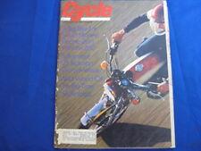 CYCLE MAGAZINE-SEPT 1972-RICKMAN 125-YAMAHA XS2-HILLCLIMBING-JAWA 350 SIDECAR