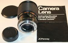 JCPenny 28-80mm f:3.5-4.5 Lens for Pentax K