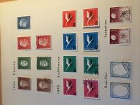 Germany Bundespost mint hinged + fine used stamps between SG1126/1140 cat £187