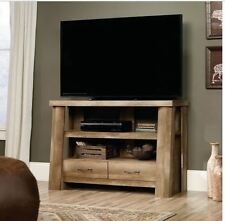 "Rustic TV Stand 47"" Side Sofa Media Console Table Entryway Wood Cabin Display"