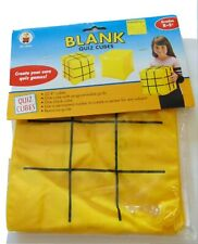 Vintage Blank Quiz Cubes Set of 2 Inflatable Cube 8