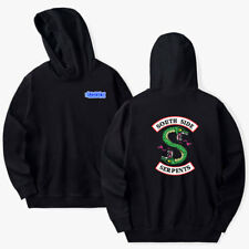Southside Serpents Mens Funny Riverdale TV Show Hoodie Programme for unisex
