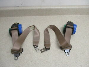 99 2000 Chevy Silverado Sierra Extended Cab Rear Pair Left And Right Seat Belts