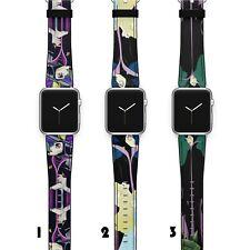 Maleficent Apple Watch Band 38 40 42 44 Series SE 6 5 1 2 3 4 Wrist Strap iWatch
