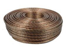 10m High Grade Professional Low Resistance HiFi Loud Speaker Cable 322 Strand