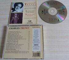 RARE CD ALBUM BEST OF ANTHOLOGIE CHARLES TRENET 18 TITRES 1996