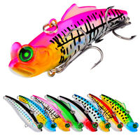 8pcs Minnow Fishing Lures Crankbait Fishing Hard Sinking Lures with Treble Hooks