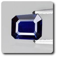 SAPPHIRE BLUE 0.82 cts. VS. Non heated. Chanthaburi, Thailand. With Certificate