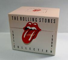 THE ROLLING STONES 1971-1989 14 CD Collection Box Set (1990) Keith Richards