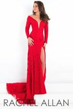 Prima Donna 5941 Red Stunning Pageant Gown Dress sz 4