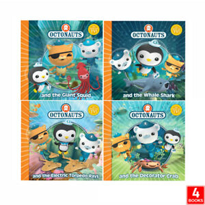 The Octonauts Collection By Simon & Schuster 4 Books Set The Decorator Crab PB