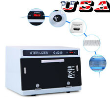 UV Sterilizer Heater Hot Towel Warmer Cabinet Equipment Facial Spa Salon Tool