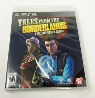 PS3 Tales From The Borderlands A Telltale Game Series Mature 17+ New Unopened
