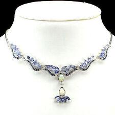 Cluster Not Enhanced Sapphire Fine Necklaces & Pendants