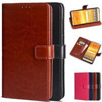 For Motorola Moto E5 Plus/E5 Supra PU Leather Wallet Card Flip Stand Cover Case