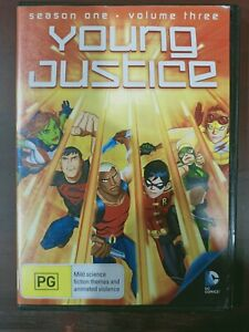 Young Justice: Season 1 - Volume 3 [Region 4] - DVD free shipping