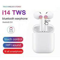 HOT!2019 i14 TWS Bluetooth 5.0 Earphone Wireless Earbuds Smart Touch Control