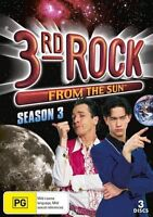 3rd Rock From The Sun : Season 3 (DVD, 2011, 3-Disc Set) - Region 4